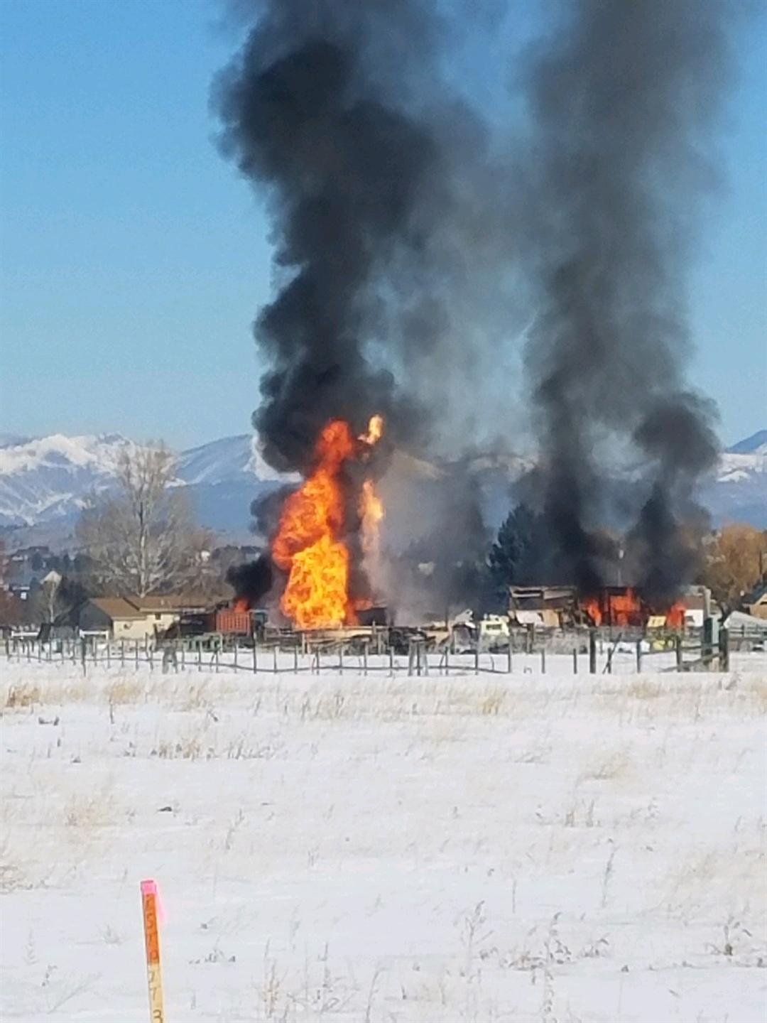 Propane explosion in Helena