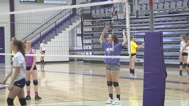 Carroll Volleyball Building High School Skills, Team Chemistry