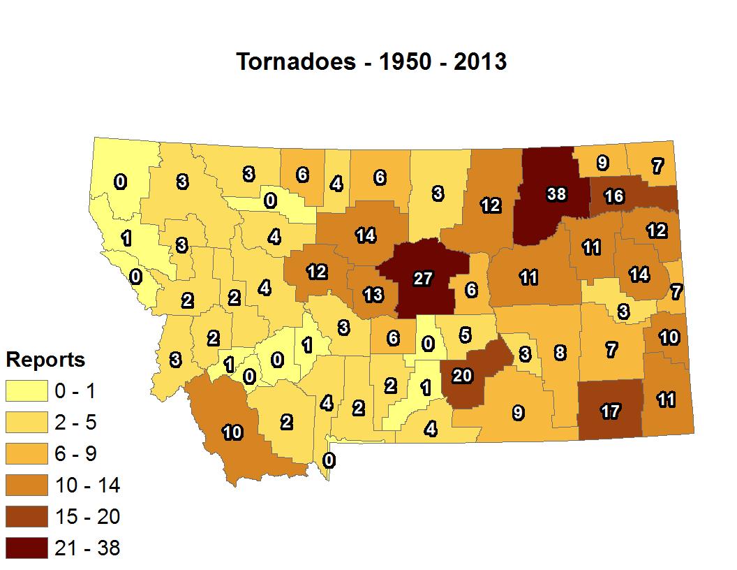 Montana Tornadoes