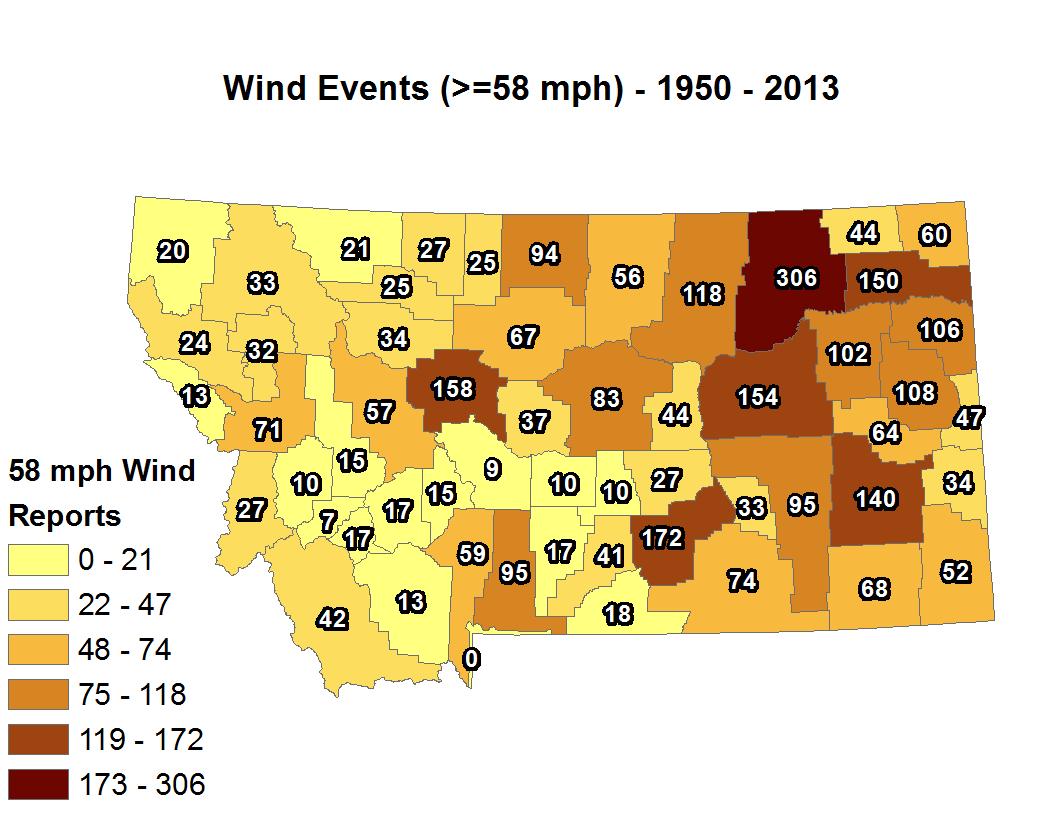 Montana Winds