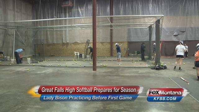 Great falls high softball gears up for 2016 season nbc for Bison motors great falls