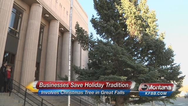 Electric city 39 s christmas tree tradition will continue for City motors great falls mt