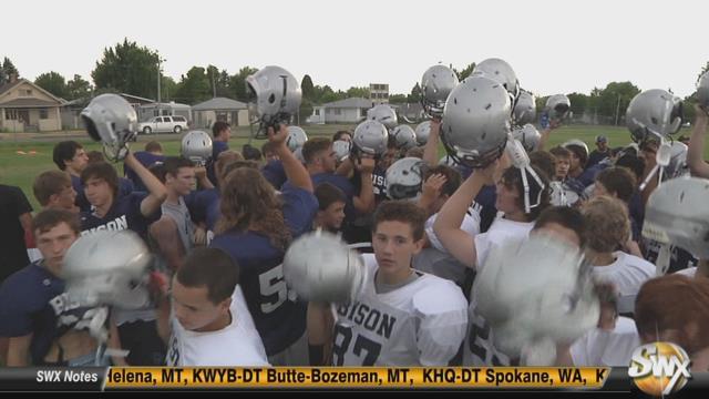 Great Falls High Football Team Prepares For Fall Camp