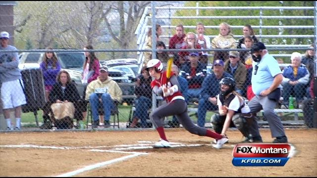 Prep softball scores highlights tuesday 5 13 abc fox for Bison motors great falls mt
