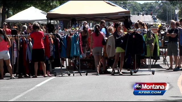 Sidewalk Sale In Great Falls Abc Fox Montana Local News