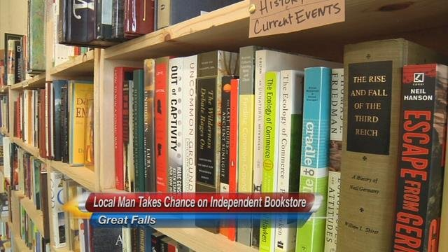 The Only Independent Bookstore in Great Falls Holds its ...