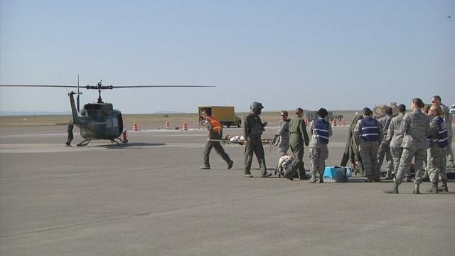Major Accident Response Exercise at Malmstrom AFB - ABC ...