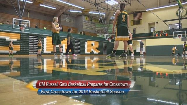Great falls and cm russell girls basketball teams prepare for Bison motors great falls