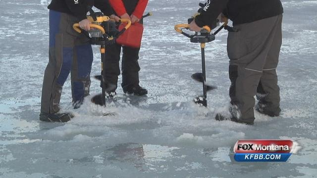 1st annual scheels ice fishing derby nbc right now kndo