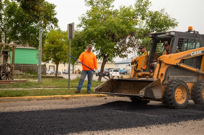 Domino 39 s paves the way to better roads in havre nbc for Betterall motors yakima wa