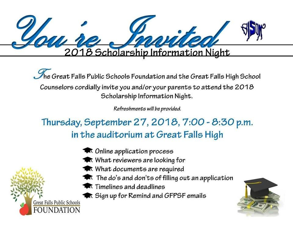 Community Spotlight: 2018 Scholarship Information Night - KFBB.com News, Sports and WeatherCommunity Spotlight: 2018 Scholarship Information Night - 웹
